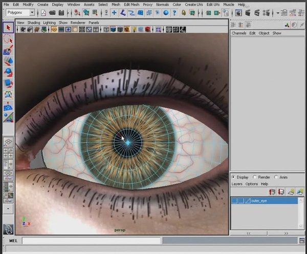 Maya和Photoshop创建真实感眼睛教程 [5]