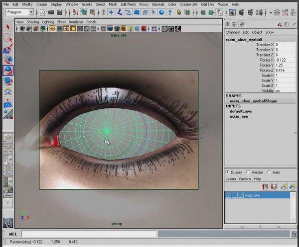 Maya和Photoshop创建真实感眼睛教程 [3]