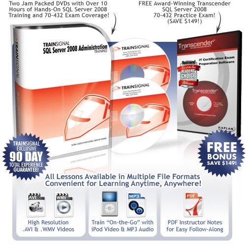 《SQL Server 2008视频教程》(Train Signal SQL Server 2008 Administration Training)DVD 2[光盘镜像]
