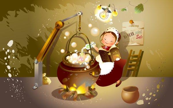 童话世界人物卡通壁纸1920×1200