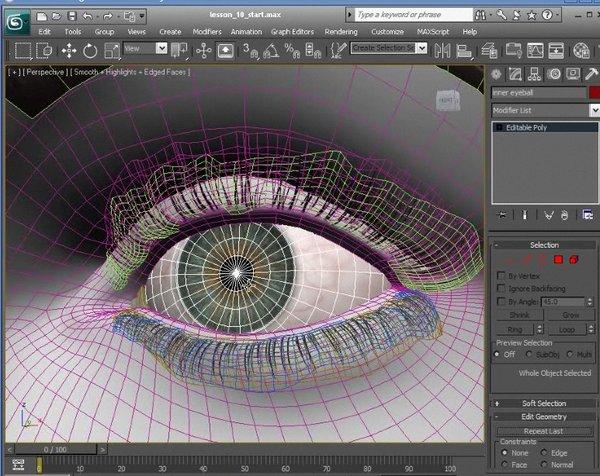 Maya和Photoshop创建真实感眼睛教程 [9]