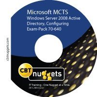 《CBT NUGGETS 考试教程》(Exam-Pack 70-640: Windows Server 2008 Active Directory, Configuring)[光盘镜像]