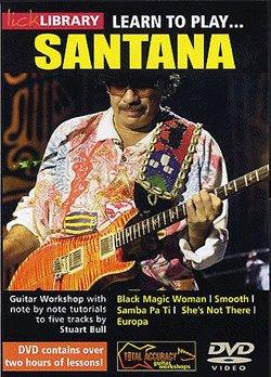 《吉他教学 Learn to Play santana》[压缩包]