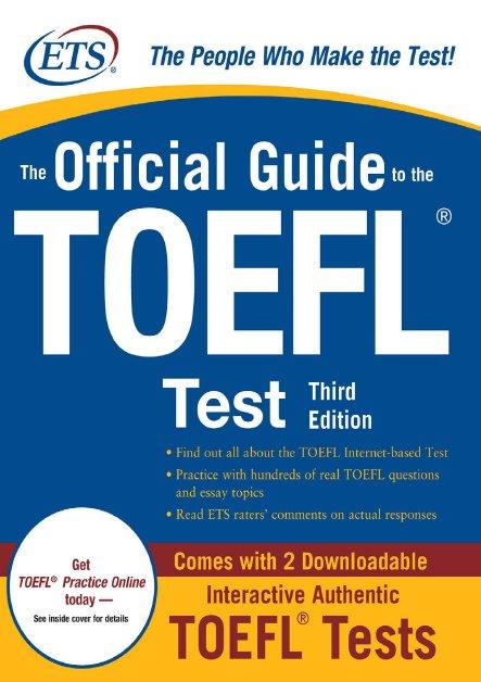 《新托福官方指南第三版》(The Official Guide to the TOEFL iBT 3rd Edition)第三版[光盘镜像]