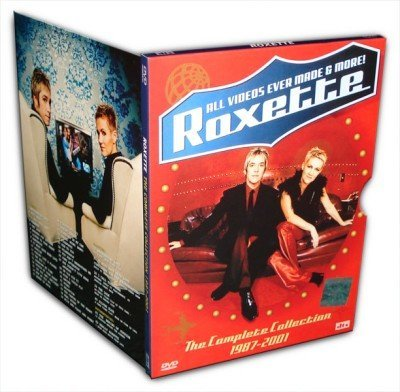 [Roxette-The Complete Collection 1987-2001][DVDISO/4.4G]MV合集