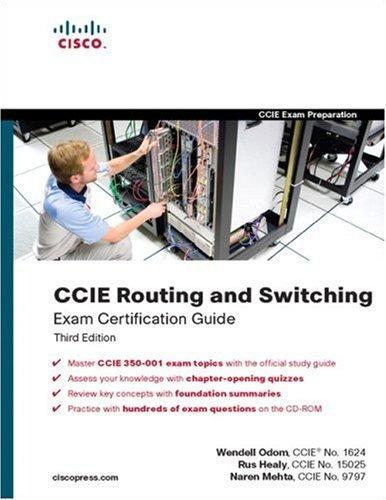 《思科考试教程:CCIE路由与交换