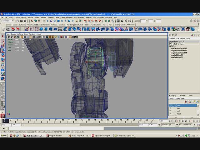 [转载]使用maya制作擎天柱模型教程