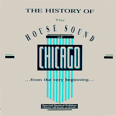 The History Of House Sound Chicago Various Artists MP3 15CD Compilation Limited Edition Box Set