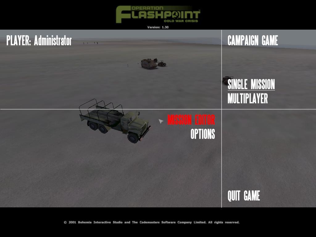 2001经典单机游戏 闪点行动 冷战危机 1.3