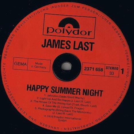 James Last Happy Summer Night