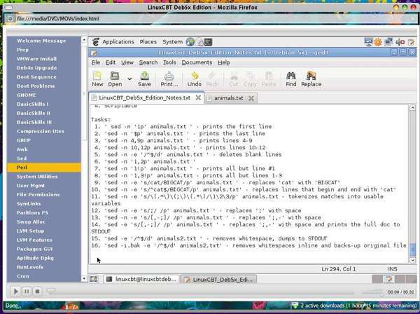 LinuxCBT Deb5x Edition (1 dvd)