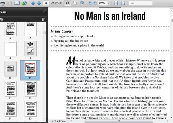 irish history for dummies pdf