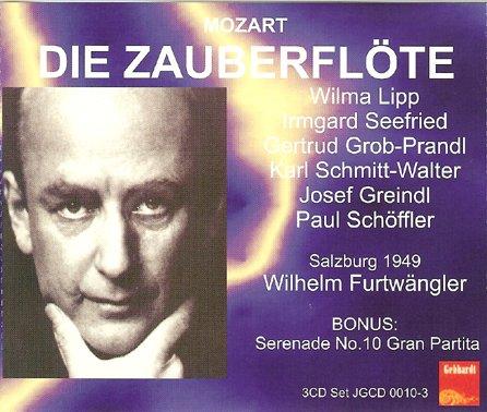 富特文格勒四九年指挥 莫扎特 魔笛 Furtwangler conduct ...
