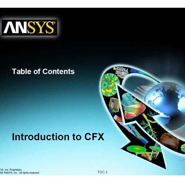 官方ANSYS ICEM CFD12 CFX培训教程 实例练习 ANSYS CFX 12.0