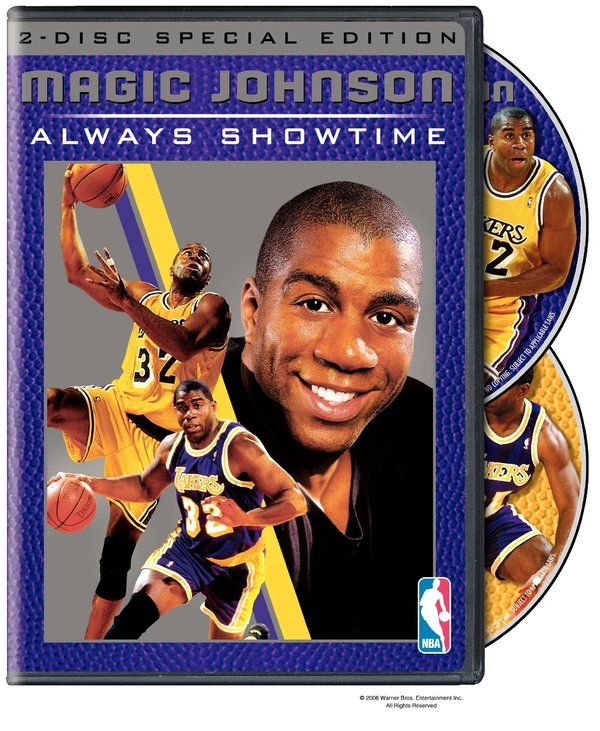 [NBA纪录片]《魔术师约翰逊》(Magic Johnson Always Showtime)[DVD]海报