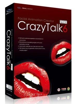《照片添加动画(会话)软件》(Reallusion Crazy Talk PRO)V6.0注册版+免费模版包[ - 316studio - 316Studio工作室
