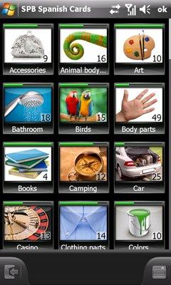 SPB 单词动画卡片学习软件 SPB Flash Cards v1.1 for WM5 WM6 简体图片