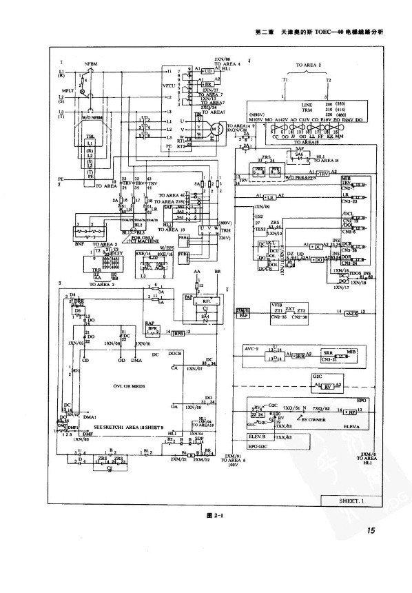 迅达电梯5500接线图