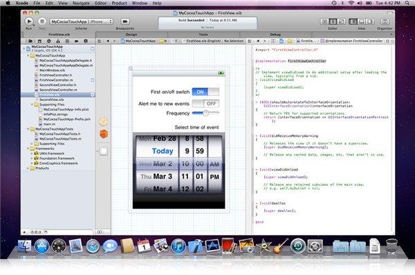 MacOSX及iOS应用程序开发工具集 Apple Xcode v4.0.2 iOS SDK v4.3