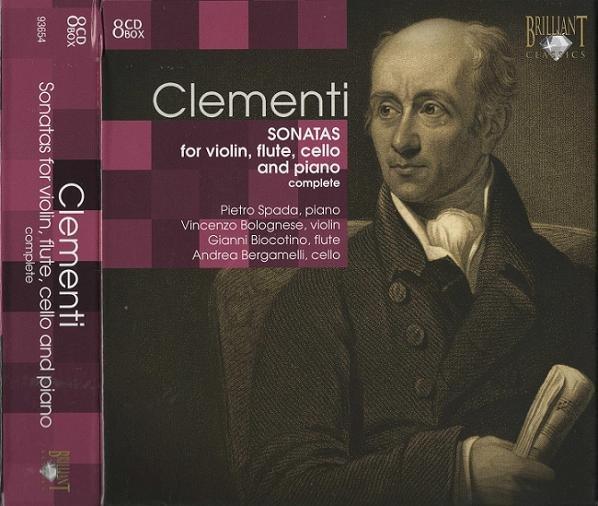 sonatas for violin flute cello & piano 唱片中文名称: 克莱门蒂 小