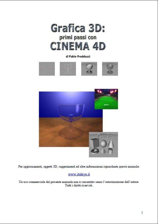 cinema 4d cinema 4d manuale. Black Bedroom Furniture Sets. Home Design Ideas