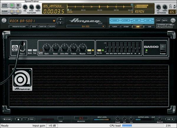 《低音放大器插件》(ik multimedia ampeg svx)v1.1.