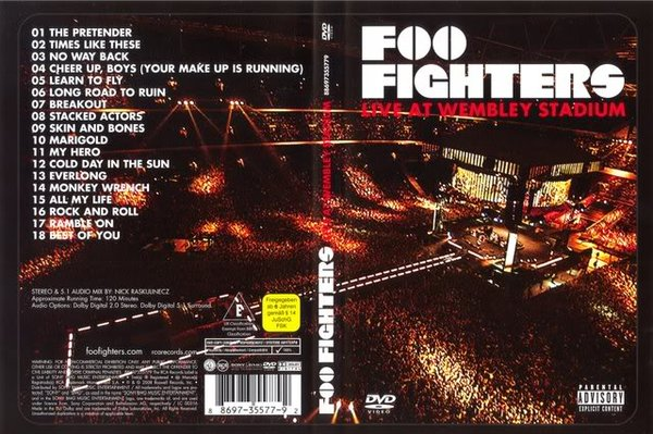 Foo Fighters Live At The Wembley Stadium -- ISO