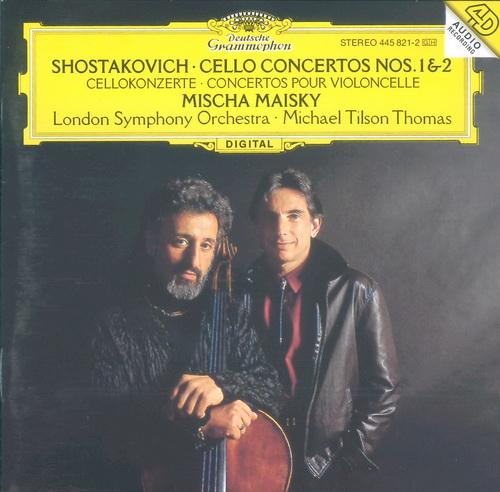 Mischa Maisky 肖斯塔科维奇 第一 第二大提琴协奏曲 ...