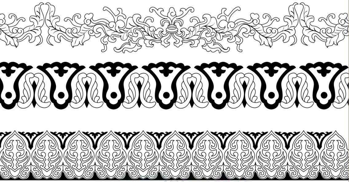 目录:  花卉   单独纹样   二方连续   四方连续  卷草   二方连续