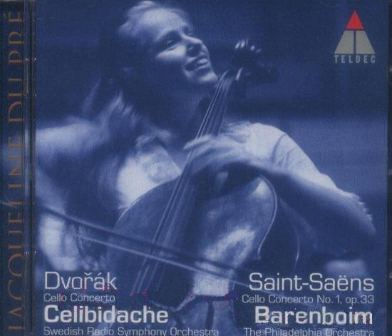 Jacqueline Du Pre 圣桑,德沃夏克大提琴协奏曲 Saint ...