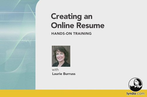 Creating an online resume hands on training download