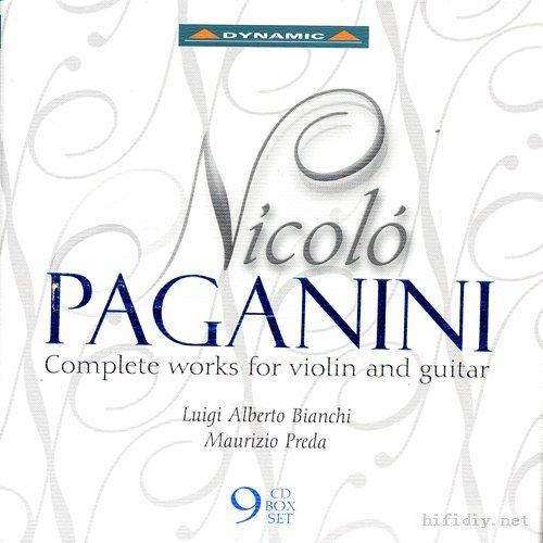 Bianchi Preda 帕格尼尼小提琴与吉他作品全集 Nicolo ...