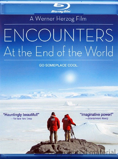 a review of encounters at the end of the world an american documentary film by werner herzog Documentary film-maker werner herzog travels to the mcmurdo station in  antarctica, looking to  encounters at the end of the world (2007)   documentary | history  a pipefitter shows us the anomaly in his hands that he  says are a sign he descended from atzec royalty  12 of 16 people found this  review helpful.