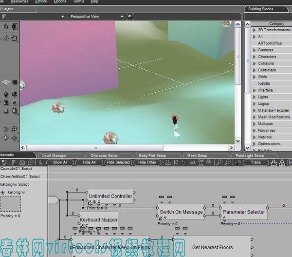 《3dsmax virtools视频教程之游戏美工制作(次时代和virtools引擎使用