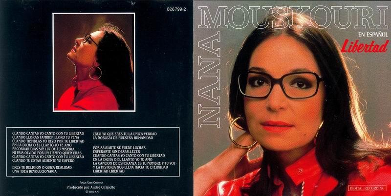 Nana Mouskouri Die Rose - Liebe Und Tränen