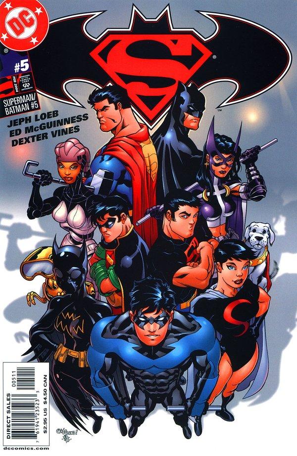超人与蝙蝠侠萌图