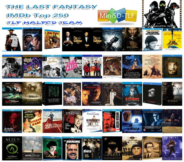 【精品资源下载】IMDB Top 250合辑 TLF-MiniSD收藏版–百度网盘下载