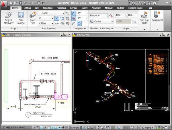 《三维工厂设计系统》(autodesk autocad plant 3d)version 2012 win图片