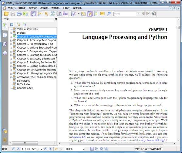 ����python����������natural language processing with python