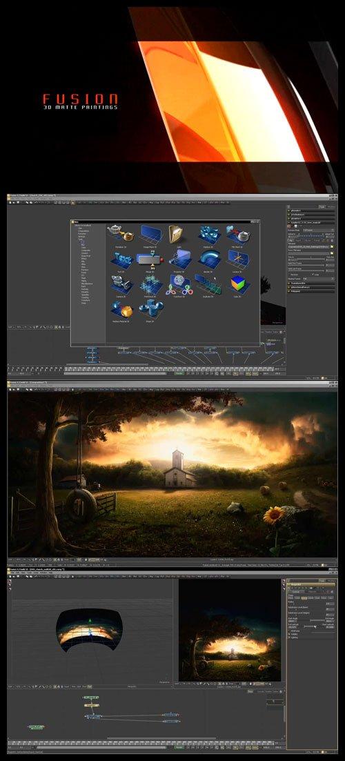 CmiVFX Fusion 3D Matte Paintings (Fusion 3D专业合成教程) - zhmig - ζΗмīG↘