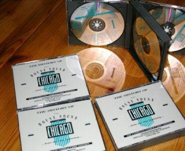 Various Artists The History Of House Sound Chicago15CD