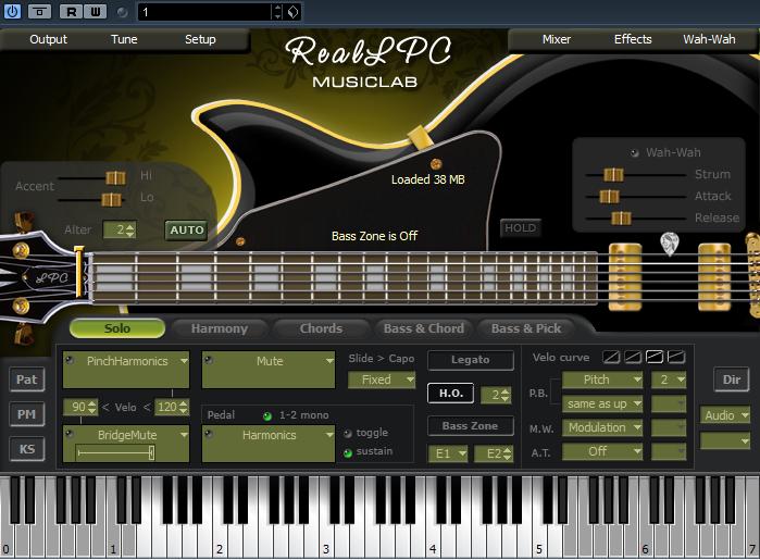RealLPC电吉他音源 MusicLab.RealLPC.Standalone.DXi.VSTi.v1.0 1.0