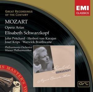 施瓦兹科普芙:莫扎特咏叹调录音(歌剧) 录音时间:1946-1952